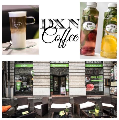 Kávéban az egészség – DXN kávézó