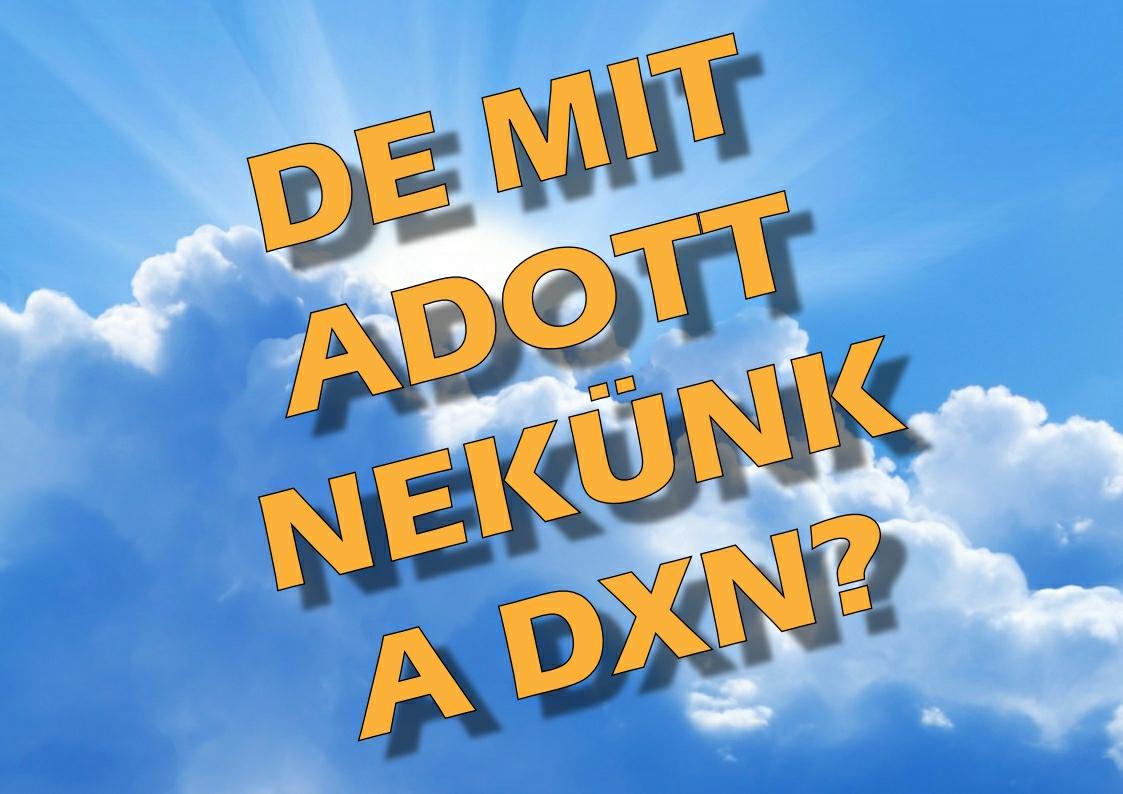 DXN és az angol humor