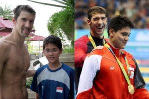 Schooling és Phelps 2008-ban Pekingben, valamint Rióban Fotó Reuters (Small)